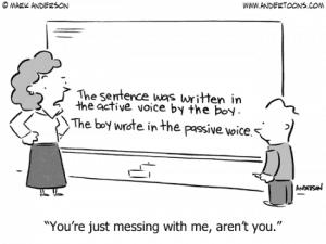 Active vs Passive Writing